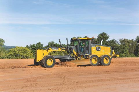 New tech for Deere's GP motor graders