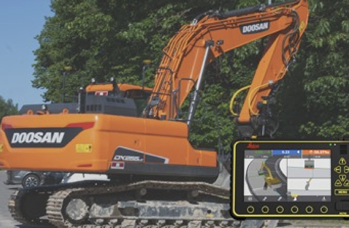 Doosan launches semi-autonomous kit for crawler excavator