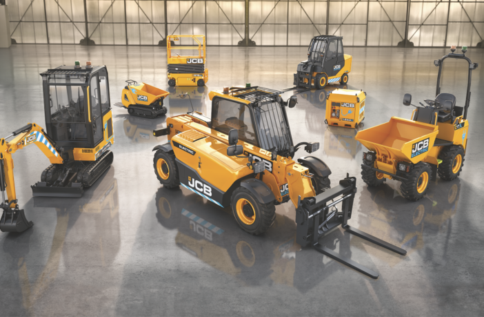 JCB unveils raft of new electric products