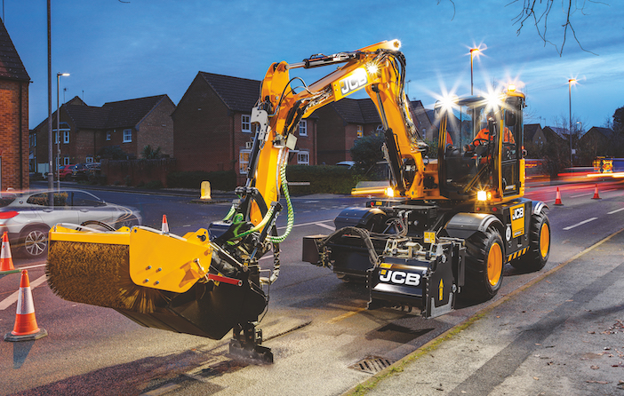 JCB unveils PotholePro – a machine dedicated to targeted road repairs