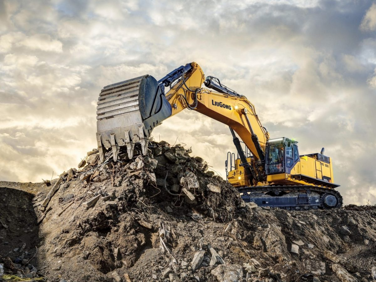 LiuGong's New 95 Tonne Excavator sets the new standard
