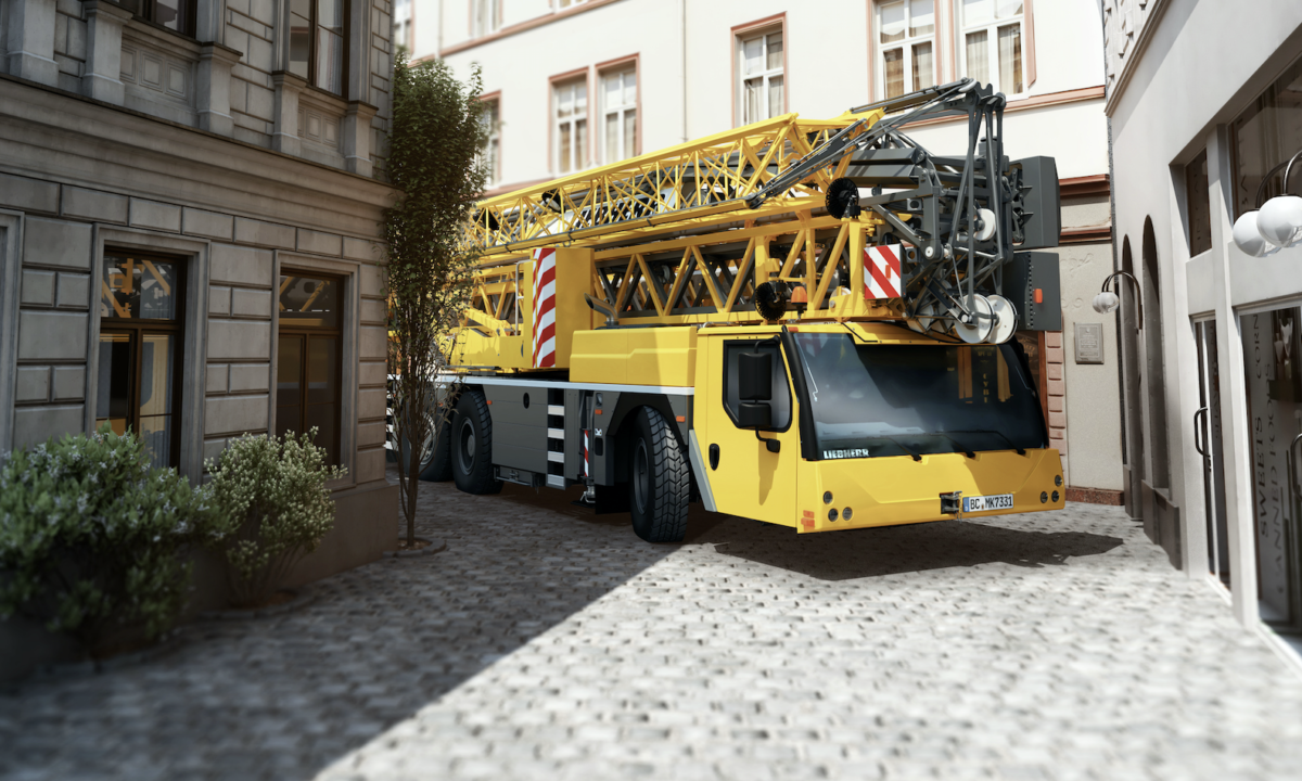 Liebherr unveils compact one-man taxi crane
