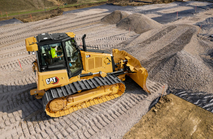 Caterpillar launches new Cat D4 Dozer with 30% better visibility
