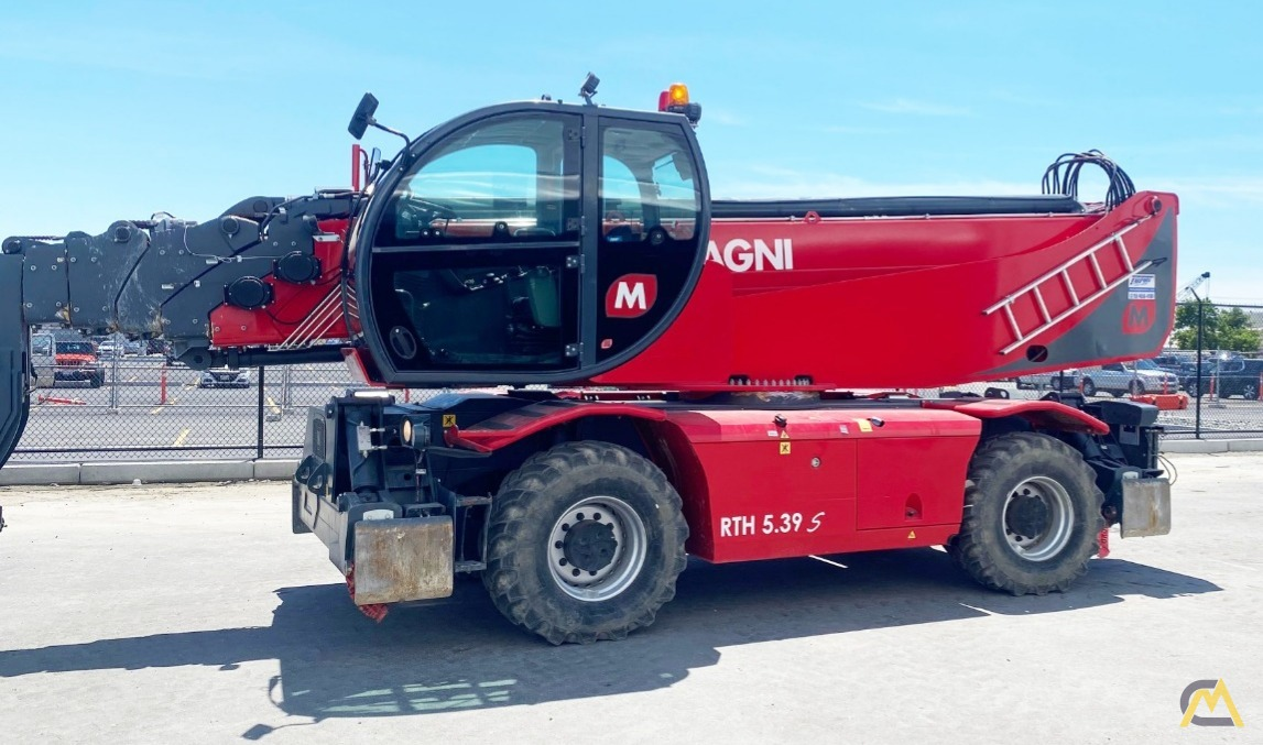 Rotating Telehandlers: Spin cycle