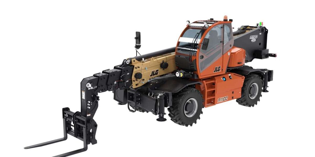 JLG to offer rotating telehandlers for North America
